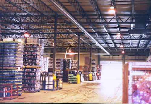 Pepsi warehouse